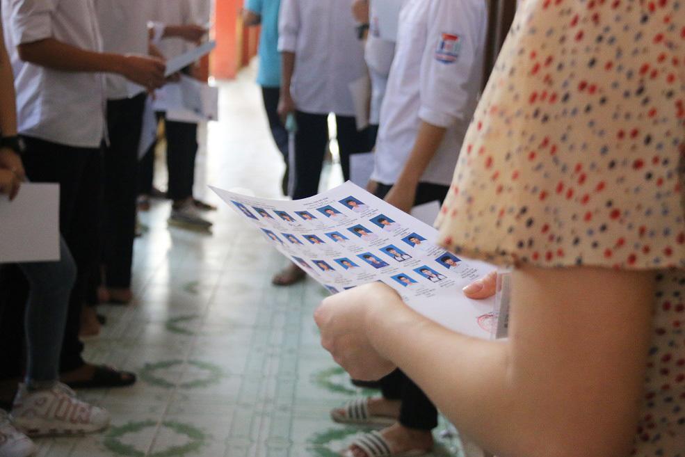 Vụ 3.000 học sinh phải dừng thi vì nghi lộ đề: Đã báo cáo sở GD&ĐT Hà Nội - Ảnh 1