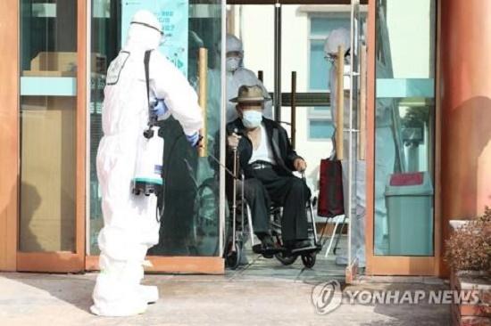 Bệnh viện Cheongdo tại Hàn Quốc. Ảnh minh họa: Yonhap