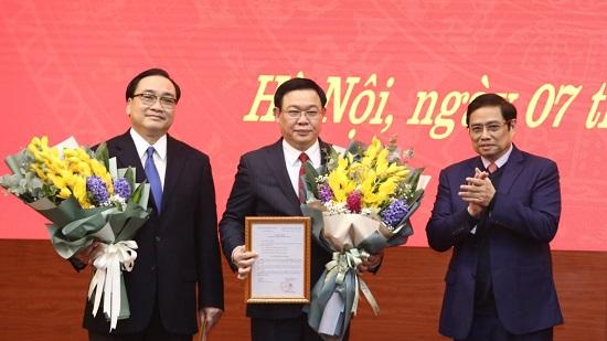 Phó Thủ tướng Vương Đình Huệ được phân công làm Bí thư Thành ủy Hà Nội - Ảnh 2