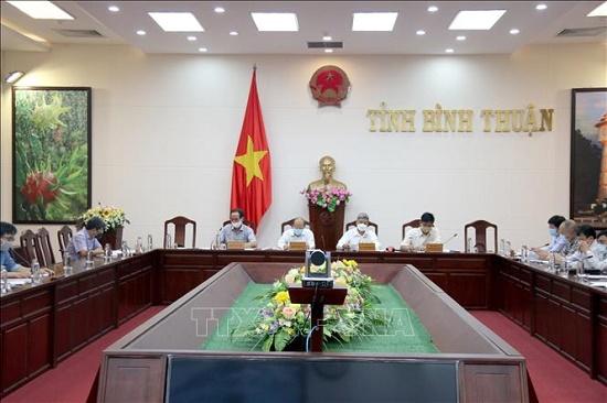 Bộ Y tế kiểm tra công tác phòng, chống dịch COVID-19 tại Bình Thuận - Ảnh 1