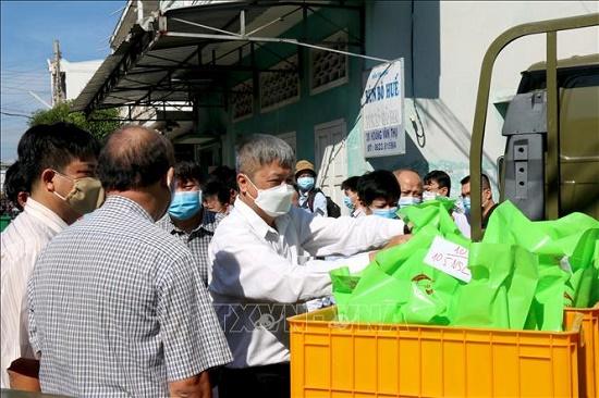 Bộ Y tế kiểm tra công tác phòng, chống dịch COVID-19 tại Bình Thuận - Ảnh 4