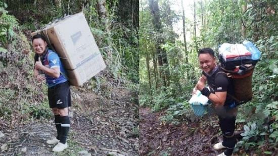 Cảm động việc thầy giáo trường làng miệt mài băng rừng 8 tiếng mang tủ lạnh cho học sinh - Ảnh 1