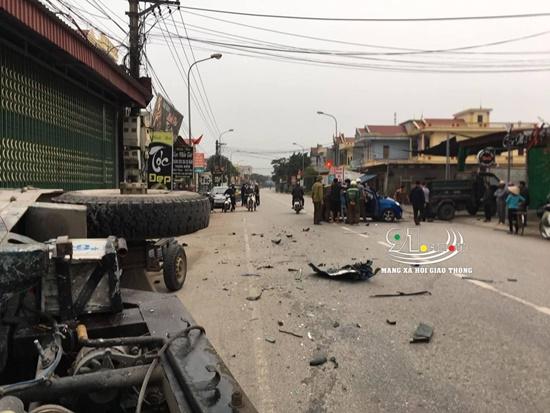 Nam Định: Ô tô va chạm kinh hoàng với xe ba bánh, 3 người bị thương - Ảnh 6