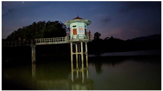 Tìm thấy thi thể người đàn ông tại đập Nà Tâm sau nhiều ngày mất tích - Ảnh 1