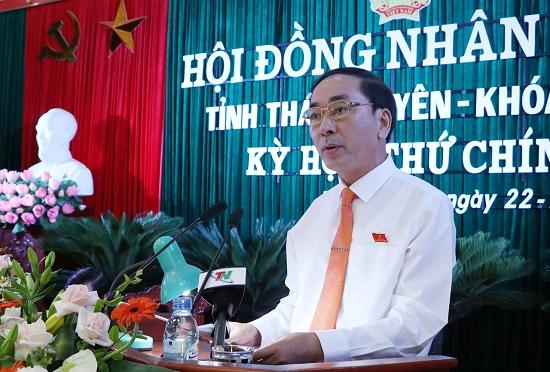 Bí thư Thái Nguyên Trần Quốc Tỏ giữ chức Thứ trưởng Bộ Công an - Ảnh 1