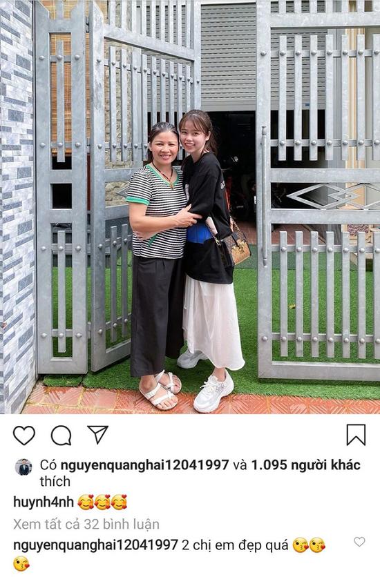 Huỳnh Anh chính thức về ra mắt, dòng bình luận của Quang Hải mới đáng chú ý - Ảnh 1