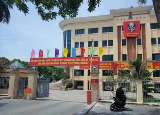 Thanh Hóa: Tước quân tịch một CSGT do liên quan đến sử dụng ma túy - Ảnh 1