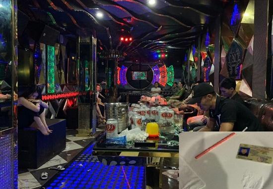 """Quảng Ninh: Phát hiện nhóm """"nam thanh nữ tú"""" sử dụng ma túy trong quán karaoke - Ảnh 1"""