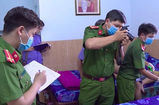 Hé lộ nguyên nhân ban đầu vụ 2 người chết bất thường trong phòng trọ ở Bình Định - Ảnh 1