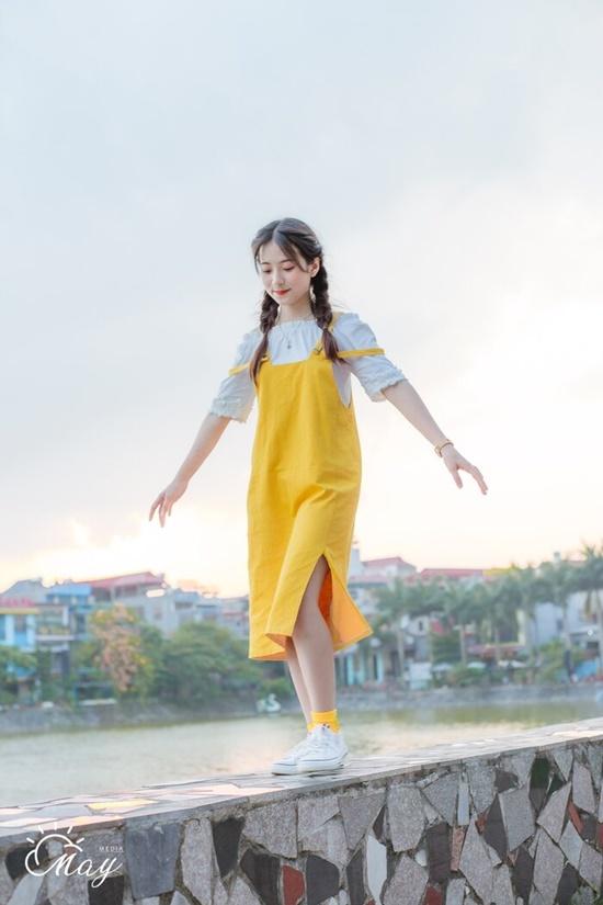 """Vẻ đẹp trong veo của nữ sinh Thái Nguyên khiến bao người phải """"yêu ngay từ cái nhìn đầu tiên"""" - Ảnh 1"""