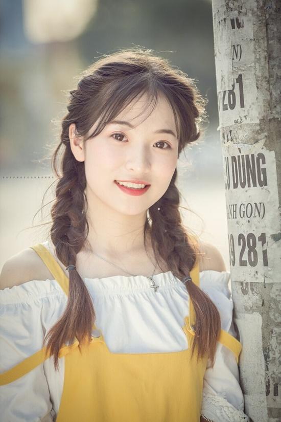 """Vẻ đẹp trong veo của nữ sinh Thái Nguyên khiến bao người phải """"yêu ngay từ cái nhìn đầu tiên"""" - Ảnh 3"""