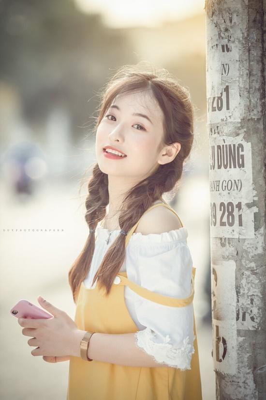 """Vẻ đẹp trong veo của nữ sinh Thái Nguyên khiến bao người phải """"yêu ngay từ cái nhìn đầu tiên"""" - Ảnh 4"""