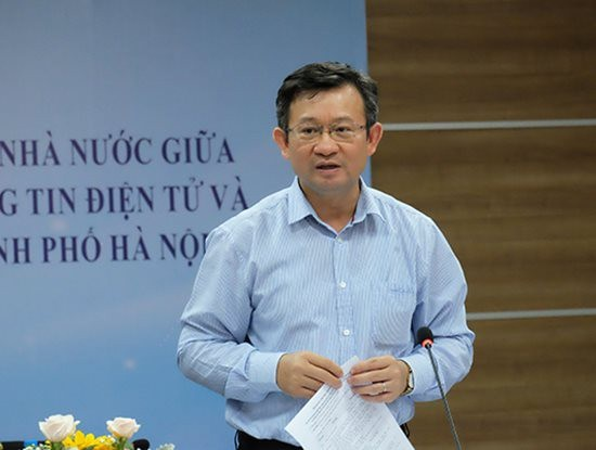 Điều động Giám đốc sở TT-TT Hà Nội sang làm Viện trưởng Viện Nghiên cứu phát triển kinh tế-xã hội - Ảnh 1