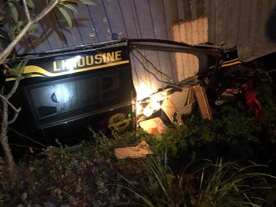 Hiện trường vụ tai nạn giao thông thảm khốc tại Quảng Ninh khiến 3 người tử vong - Ảnh 2