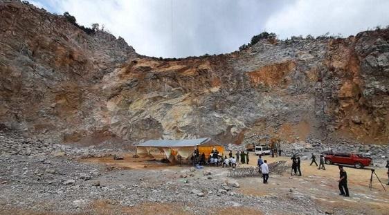 Vụ sập mỏ đá ở Điện Biên: Xác định danh tính 3 nạn nhân - Ảnh 1