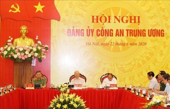 Tổng Bí thư, Chủ tịch nước dự Hội nghị Đảng ủy Công an Trung ương - Ảnh 4