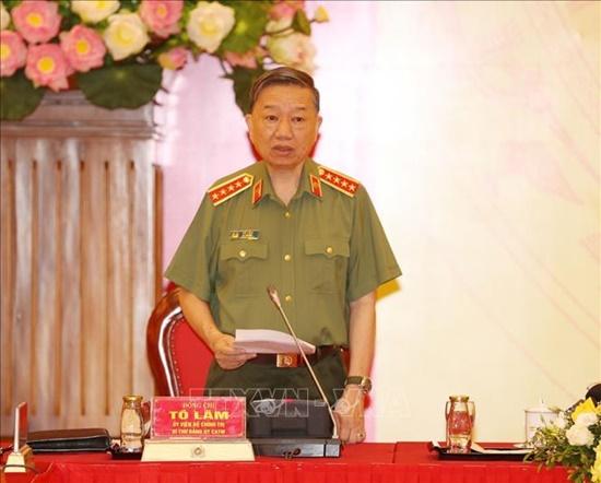 Tổng Bí thư, Chủ tịch nước dự Hội nghị Đảng ủy Công an Trung ương - Ảnh 7