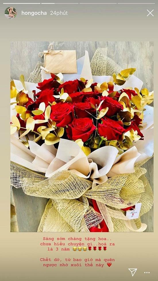 """Kim Lý gửi """"mật ngọt"""" tới Hồ Ngọc Hà nhân ngày kỷ niệm 3 năm yêu - Ảnh 2"""