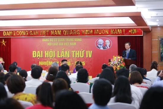 Báo cáo kiểm điểm của BCH Đảng đoàn hội Luật gia Việt Nam khoá III - Ảnh 1
