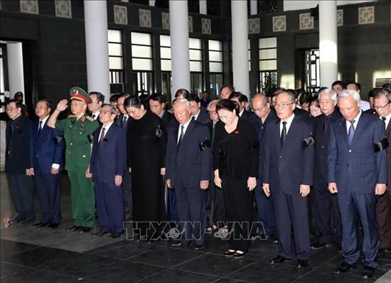 Vĩnh biệt đồng chí Vũ Mão, một cán bộ có nhiều đóng góp cho hoạt động Quốc hội Việt Nam - Ảnh 5