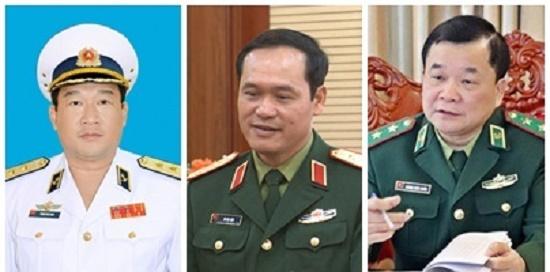 Thủ tướng Chính phủ bổ nhiệm 3 Thứ trưởng Bộ Quốc phòng - Ảnh 1