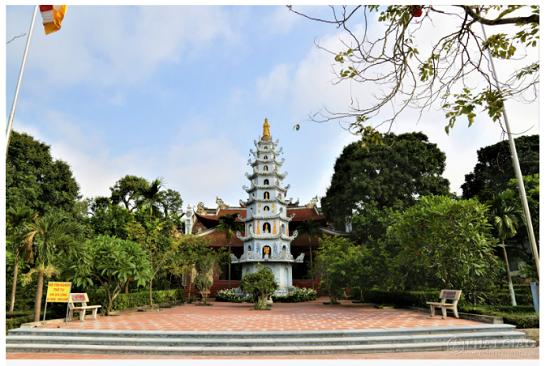 Cảnh sắc cổ kính bên trong Viên Minh tự - nơi Chủ tịch tập đoàn Tôn Hoa Sen quy y Tam bảo - Ảnh 4