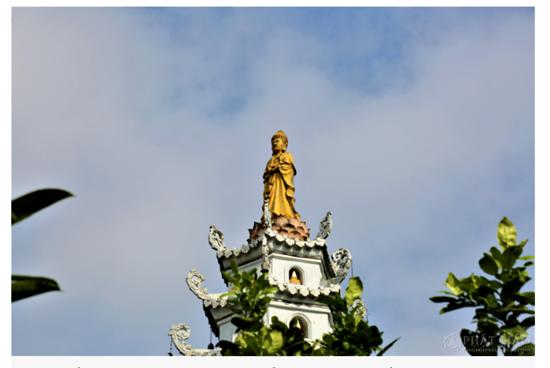 Cảnh sắc cổ kính bên trong Viên Minh tự - nơi Chủ tịch tập đoàn Tôn Hoa Sen quy y Tam bảo - Ảnh 6