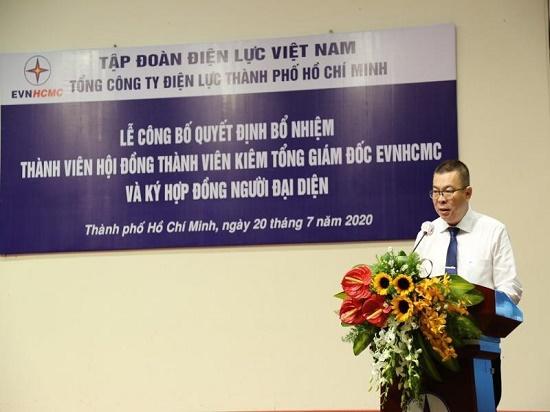 Ông Nguyễn Văn Thanh giữ chức Tổng Giám đốc Tổng công ty Điện lực TP.HCM - Ảnh 1
