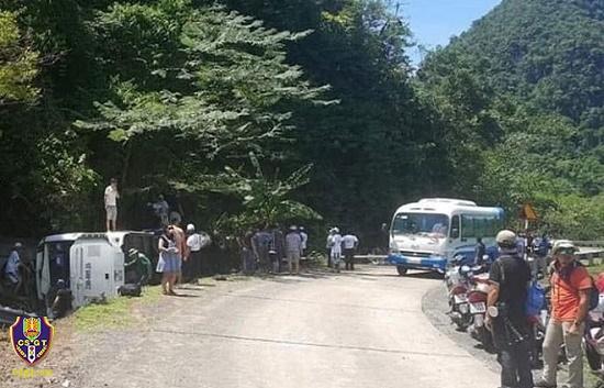 Bộ Công an chỉ đạo khẩn trương điều tra nguyên nhân vụ tai nạn giao thông làm 15 người chết tại Quảng Bình - Ảnh 1