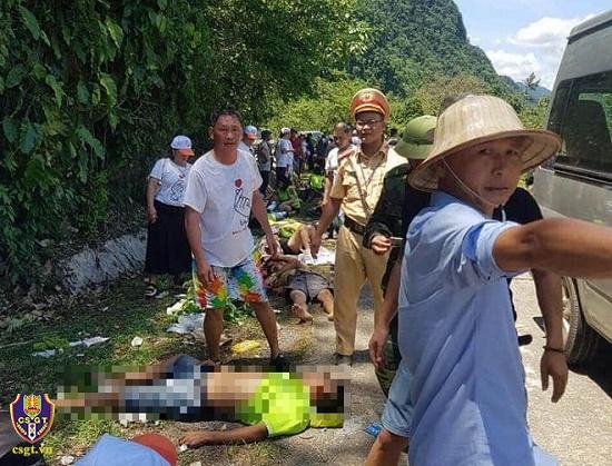 Bộ Công an chỉ đạo khẩn trương điều tra nguyên nhân vụ tai nạn giao thông làm 15 người chết tại Quảng Bình - Ảnh 2
