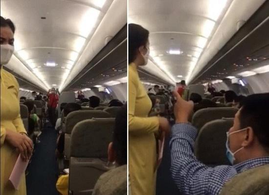 Nam hành khách lăng mạ, đe dọa tiếp viên trên máy bay. Ảnh minh họa