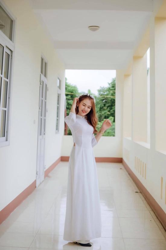 Nhan sắc đẹp đến nao lòng không thua kém gì đàn chị của nữ sinh nhỏ tuổi nhất Hoa hậu Việt Nam 2020 - Ảnh 5