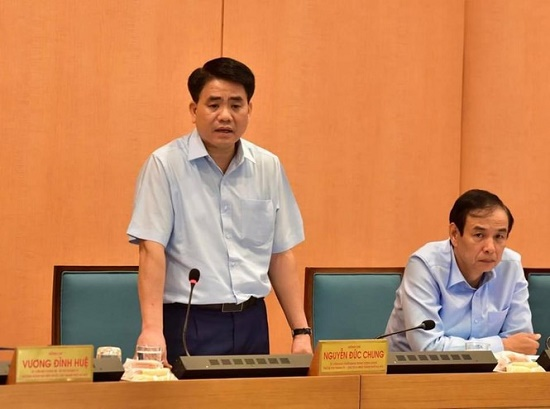 Chủ tịch Hà Nội: Từ hôm nay sẽ triển khai lực lượng xử phạt những người không đeo khẩu trang - Ảnh 1