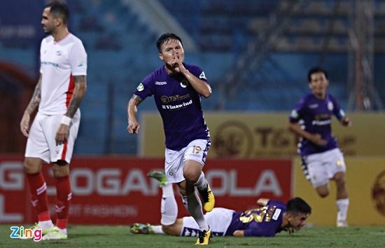 Lập siêu phẩm giúp Hà Nội FC vô địch Cúp Quốc gia 2020, Quang Hải nói gì về pha ăn mừng kiểu Ronaldo? - Ảnh 1