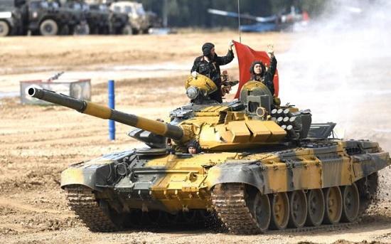 Sức mạnh vượt trội của xe tăng T-73B3 giúp Việt Nam gạ gục đối thủ, giành chiến thắng tại Tank Biathlon 2020 - Ảnh 2