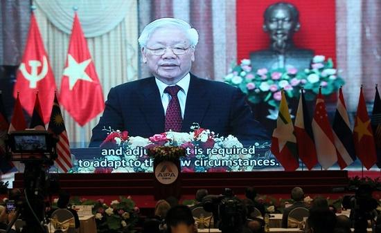 Tổng bí thư, Chủ tịch nước phát biểu trực tuyến tại Đại hội đồng AIPA 41 - Ảnh 2