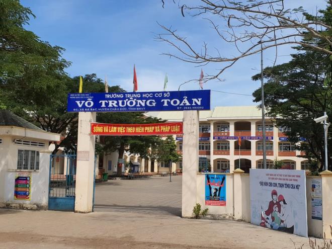 Vụ nữ sinh lớp 7 tự sinh con ở Bà Rịa - Vũng Tàu: Phòng GD&ĐT nói gì? - Ảnh 1