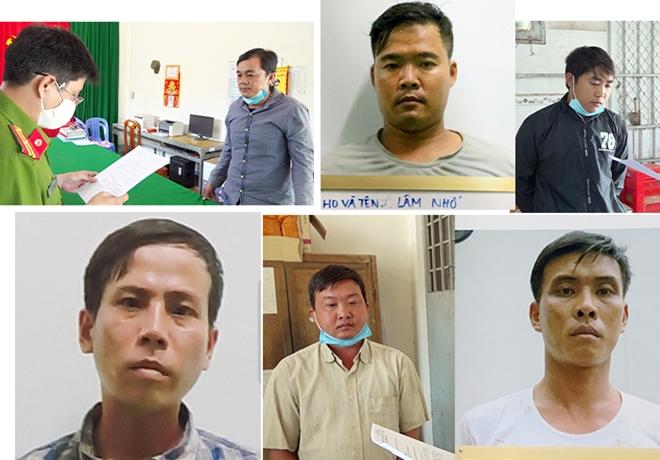 """Vụ phá sới bạc """"Út Gà"""" vùng giáp biên: Khởi tố thêm 8 đàn em của """"ông trùm"""" Nguyễn Ngọc Thuận - Ảnh 1"""