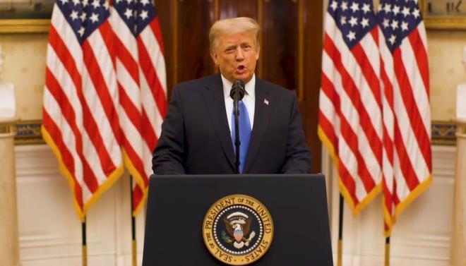 Trước khi rời Nhà Trắng, Tổng thống Mỹ Donald Trump đã đi gửi thông điệp gì? - Ảnh 1