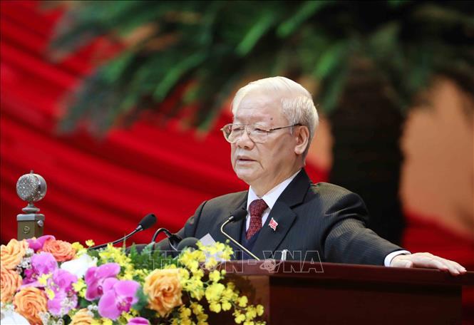 Toàn văn Báo cáo của Ban Chấp hành Trung ương Đảng khóa XII về các văn kiện trình Đại hội XIII - Ảnh 1