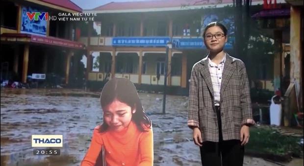 Cô bé khóc nức nở vì sách vở ướt nhẹp sau 10 năm: Ra dáng thiếu nữ xinh đẹp, trở thành sinh viên trường y - Ảnh 2