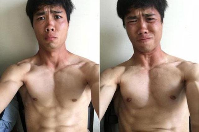 """Dàn cầu thủ Việt body 6 múi """"đốt mắt"""" hội chị em, người cuối cùng vừa mới theo nàng """"bỏ cuộc chơi"""" - Ảnh 5"""