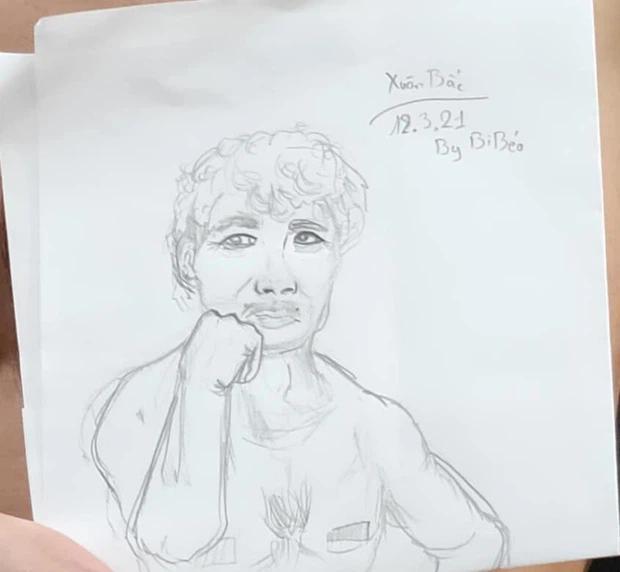 """Kỳ công ngồi vẽ bố Xuân Bắc, Bi Béo khiến dân mạng """"cười sái quai hàm"""" khi nhìn cái kết - Ảnh 3"""