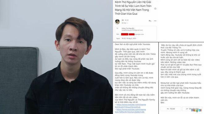 Động thái mới của YouTuber Thơ Nguyễn sau buổi làm việc với sở TT&TT Bình Dương - Ảnh 1