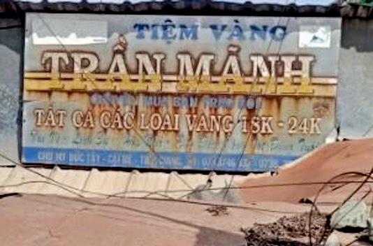Vụ chủ tiệm vàng Trần Mãnh báo bị trộm 1 tỷ: Dấu vết ở hiện trường có gì? - Ảnh 1
