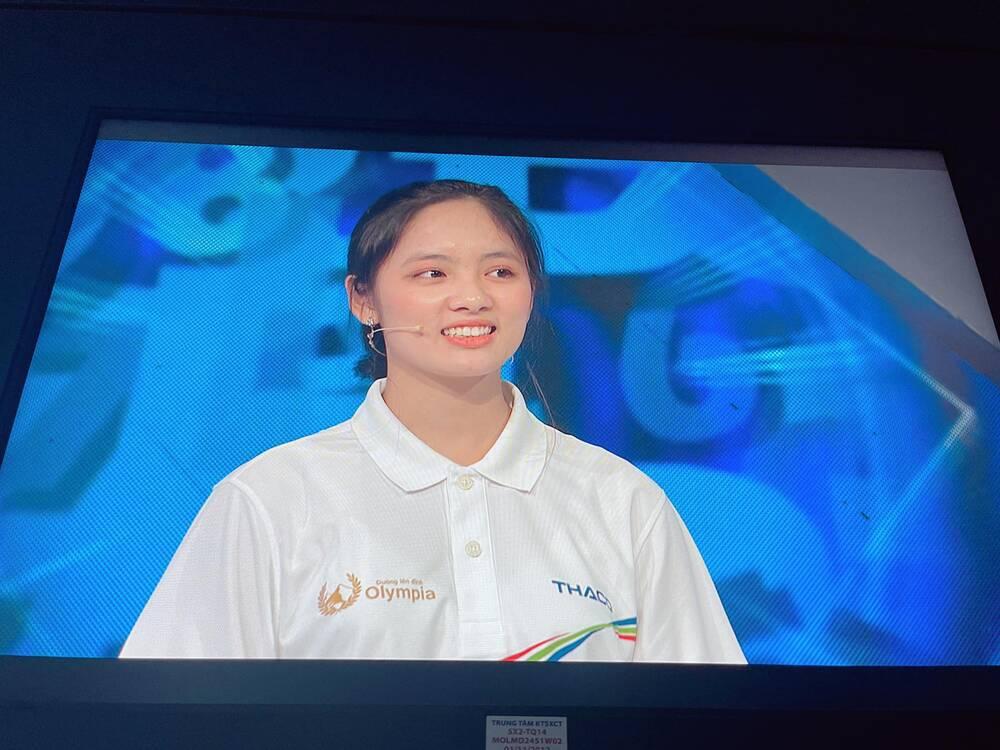 """Nữ sinh Thái Nguyên giành vòng nguyệt quế Olympia đúng chuẩn mẫu """"con nhà người ta"""" - Ảnh 1"""