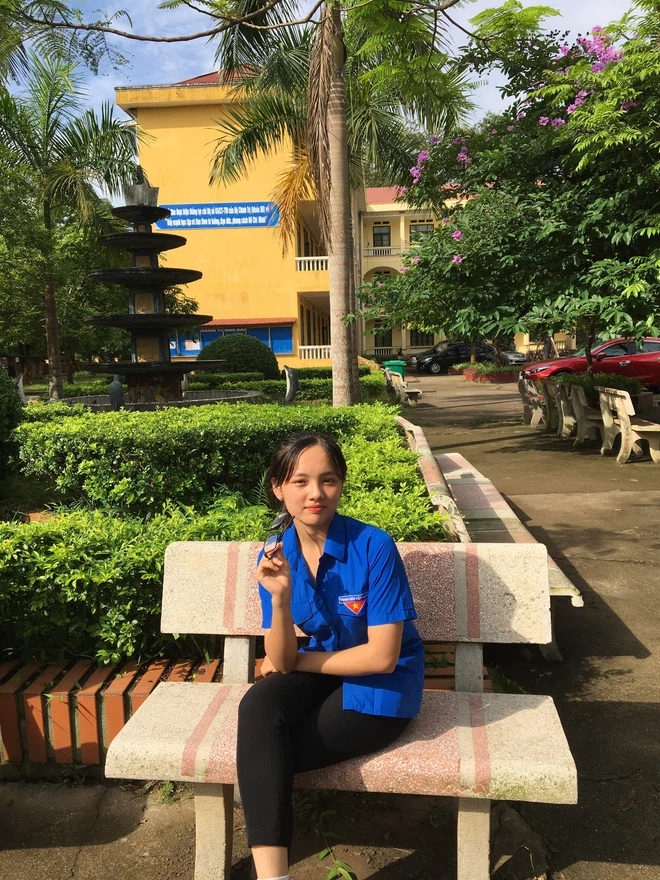"""Nữ sinh Thái Nguyên giành vòng nguyệt quế Olympia đúng chuẩn mẫu """"con nhà người ta"""" - Ảnh 3"""