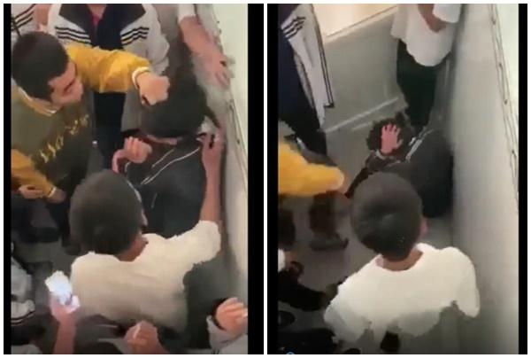 Vụ clip nam sinh lớp 10 bị đánh hội đồng tại nhà vệ sinh: Sở GD&ĐT yêu cầu xử lý nghiêm - Ảnh 1