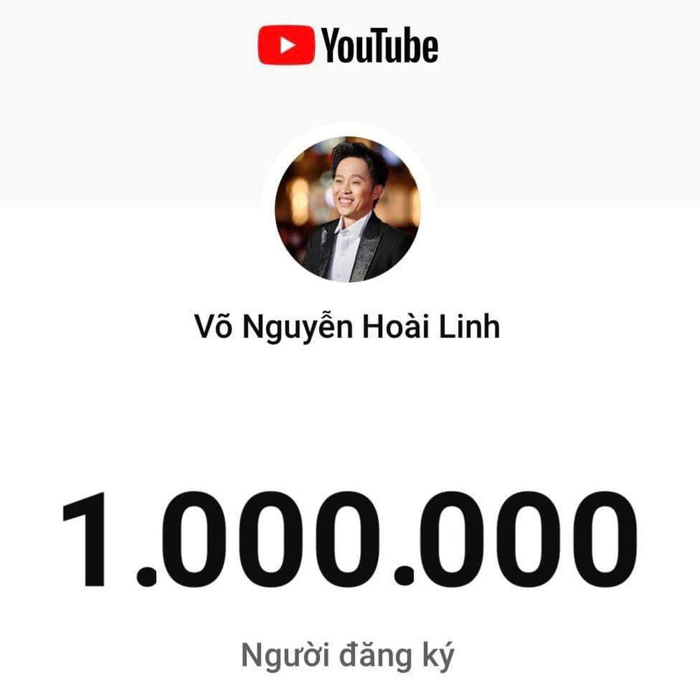 NSƯT Hoài Linh đạt nút vàng Youtube chỉ sau 3 tháng khiến người hâm mộ trầm trồ - Ảnh 2