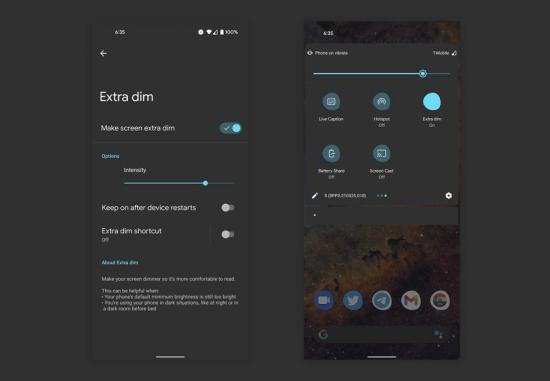 Tính năng mới trong Android 12 cho phép bạn giảm độ sáng màn hình để bảo vệ mắt - Ảnh 1